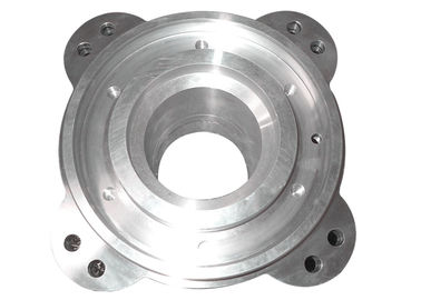 Sand Casting Aluminum Pipe Flange BS Standard AlSi10Mg Material Polishing Surface
